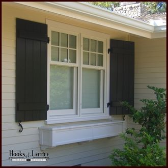 25 best ideas about composite board on pinterest - Composite board and batten exterior shutters ...