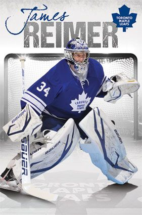 Toronto Maples Leafs - James Reimer 2013 | NHL | Sports | Hardboards | Wall Decor | Pictures Frames and More | Winnipeg | Manitoba | MB | Canada