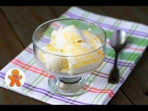 Домашнее Мороженое Очень Простой и Быстрый Рецепт - YouTube