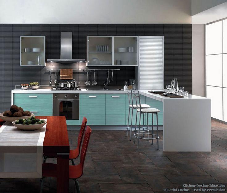 Italian Kitchen Design Ideas: 61 Best Images About Turquoise Kitchens On Pinterest