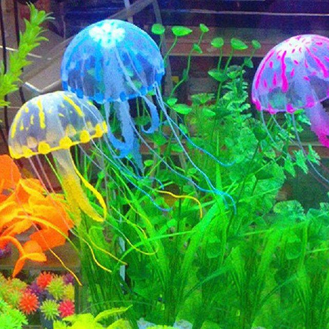 luxury christmas fish tank decor