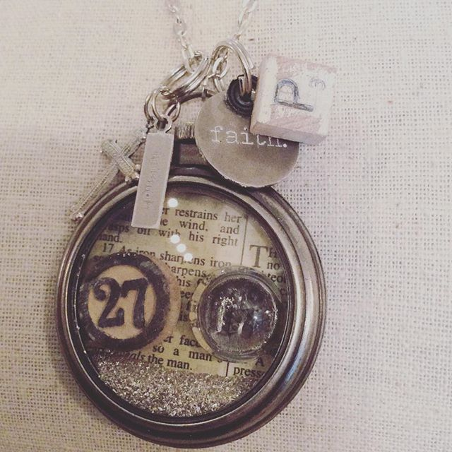 'As iron sharpens iron, a friend sharpens a friend'. Proverbs 27:17. Custom designed keepsake, each little bauble & charm full of care and meaning. #Merry #Christmas #2015 #gifts #with #meaning #bff #friends #joy #blessed #grateful #gratitude #integrity #strength #Proverbs #27 #17 #birdsofafeather #notsoshabby