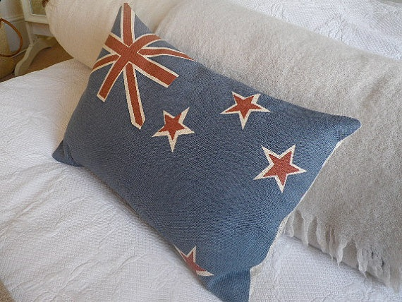 nz flag pillow