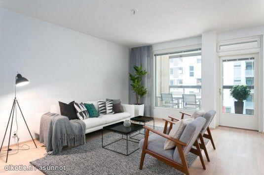 Myytävät asunnot, Saukonpaadenranta 14 Jätkäsaari Helsinki #skandinaavinen #koti #oikotieasunnot