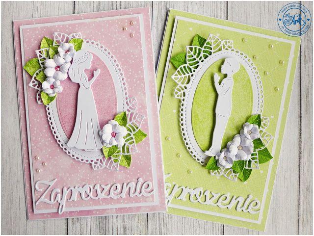 MiniArt - hand made with love: Zaproszenia komunijne / Communion invitations - DT Craft Passion