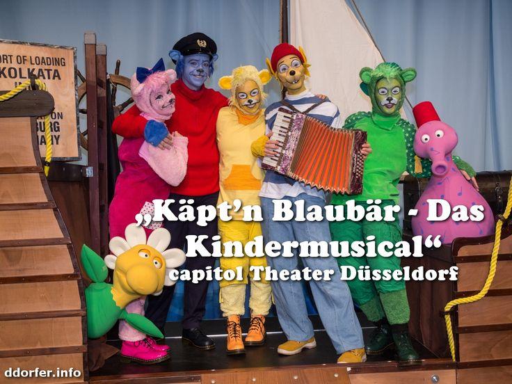 """Käpt'n Blaubär - Das Kindermusical"" spielt am 04. April und 06./07. Juni im Capitol Theater #Düsseldorf"