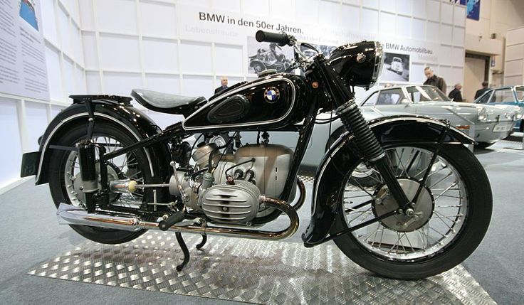 BMW R 51-3 motorcycle 1951