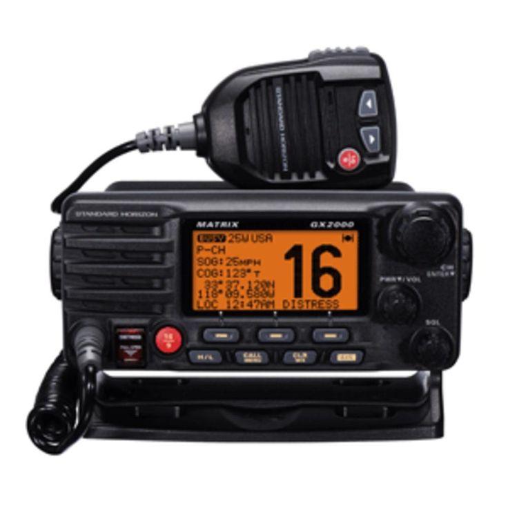 Standard Horizon Matrix GX2000 VHF w/Optional AIS Input 30W PA
