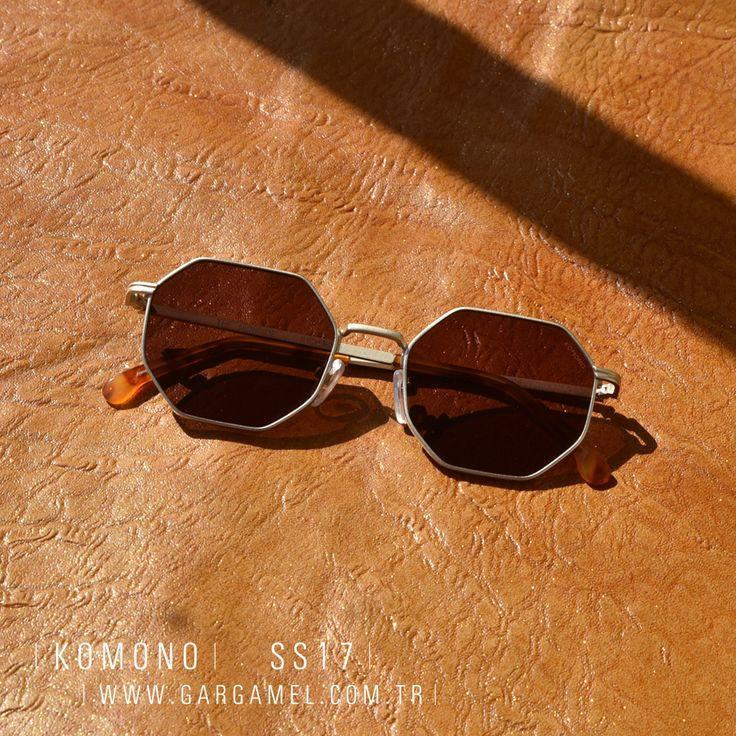 KOMONO ile hayatınıza yeni bir stil katın! MONROE gözlük modelleri mağazamızda ve internet sitemizde, www.gargamel.com.tr