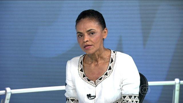 Jornal Nacional - Marina Silva é entrevistada no Jornal Nacional
