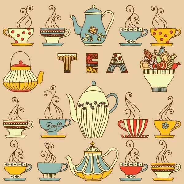 Teapot illustrations <3