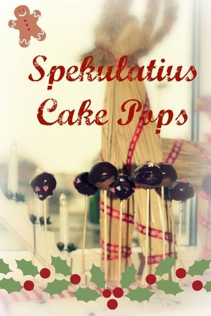 Rezept für Spekulatius Cake Pops für Weihnachten, einfach und schnell selber machen, ohne backen, dieses DIY können auch Kinder. Das etwas andere Weihnachtsgebäck