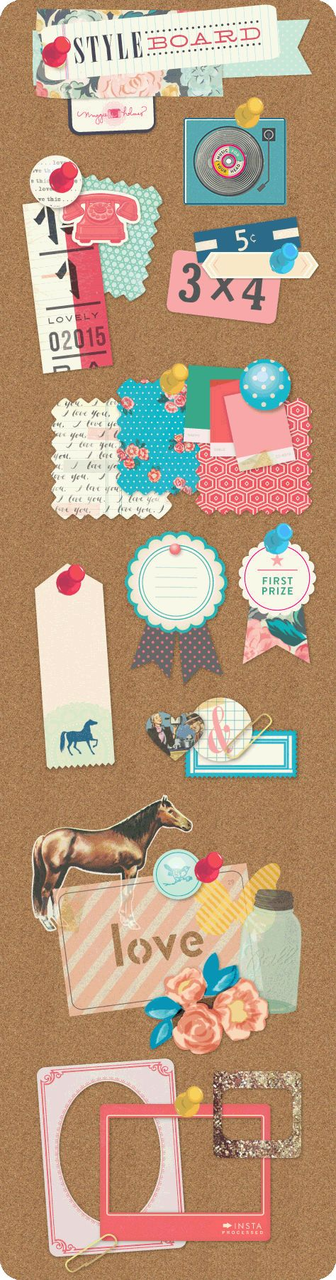 Styleboard - Crate Paper
