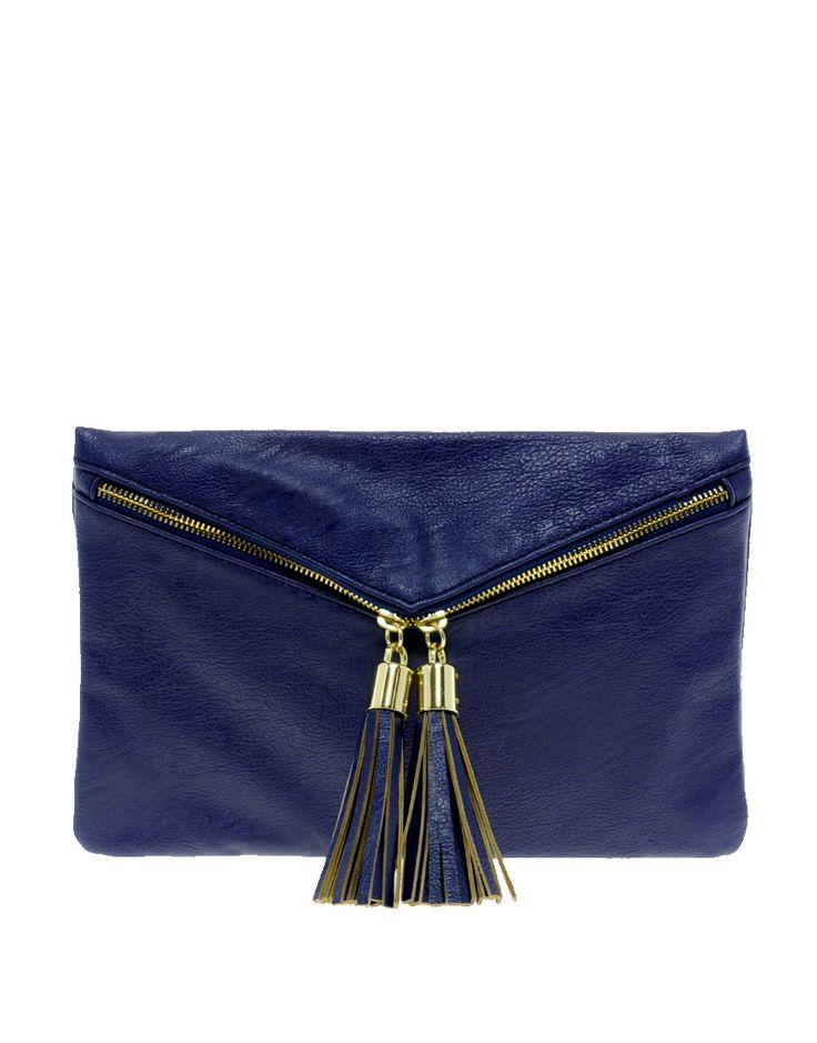 double tassel clutch