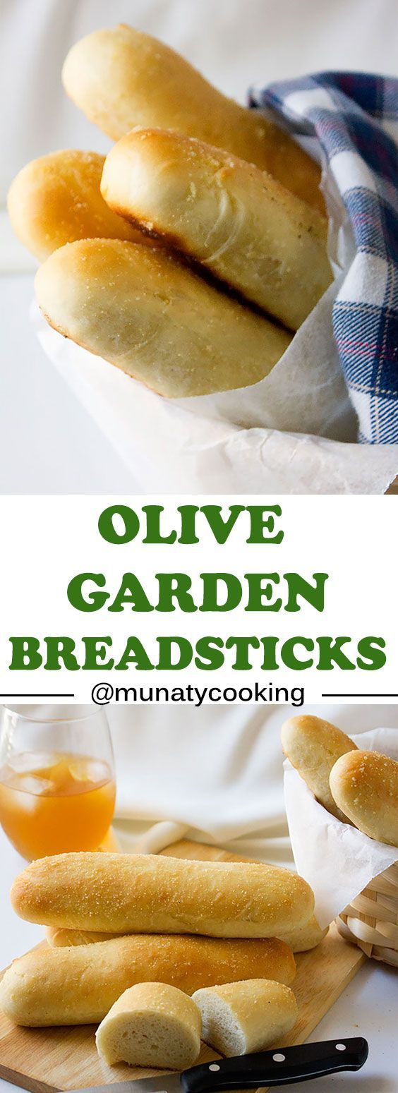 Olive Garden Breadsticks. These breadsticks taste just like the one at olive garden, light and delicious. Now you can make it and enjoy it any time you crave it. www.munatycooking.com   @munatycooking