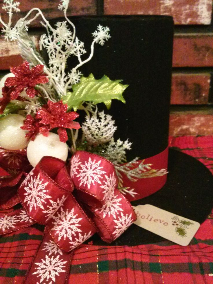 Best images about christmas tophats on pinterest