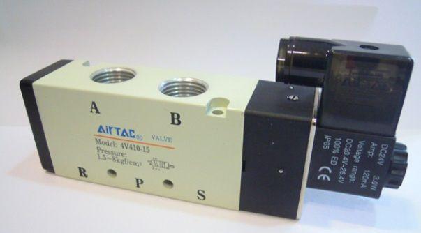 The supply of the original electromagnetic valve 4V410-15 DC24V #Affiliate