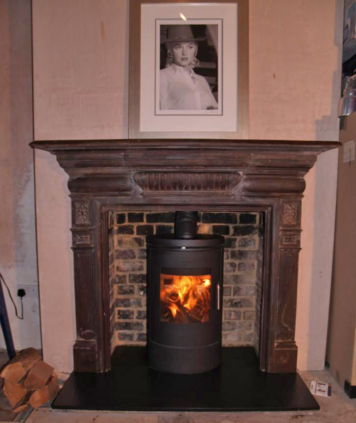 25 best ideas about slate hearth on pinterest wood for Victorian corner fireplace