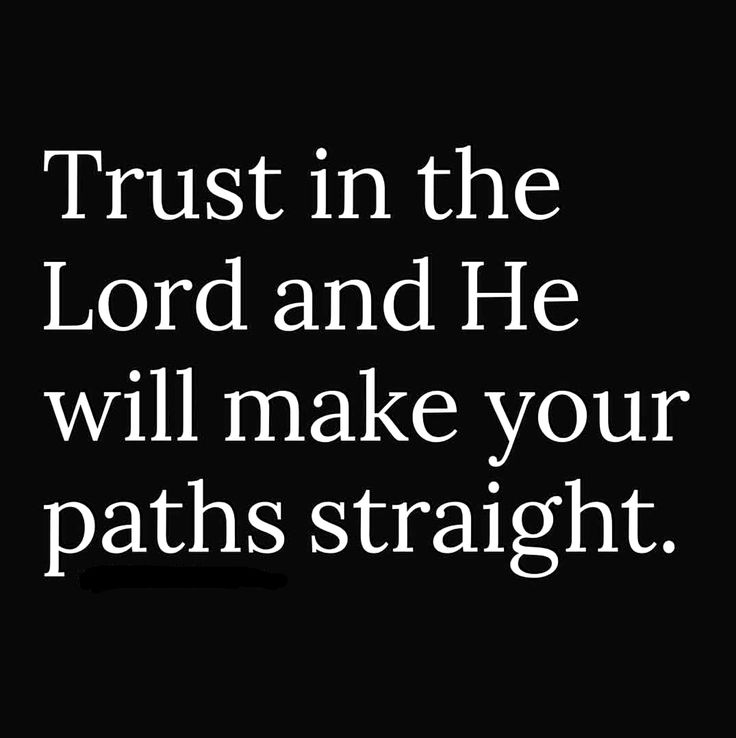 """Trust in the Lord with all your heart; do not depend on your own understanding. Seek his will in all you do, and he will show you which path to take"" (Proverbs 3:5-6).  In God's presence, there is ""fullness of joy"" and ""pleasures forevermore"" (Psalm 16:11). Though we may not always see, in this life, how God works all things for good (Romans 8:28-29) we can know that He is at work, even in our failures and our disappointments.  God is sovereign over all creation (Isaiah 46:10).  #TrustGod…"