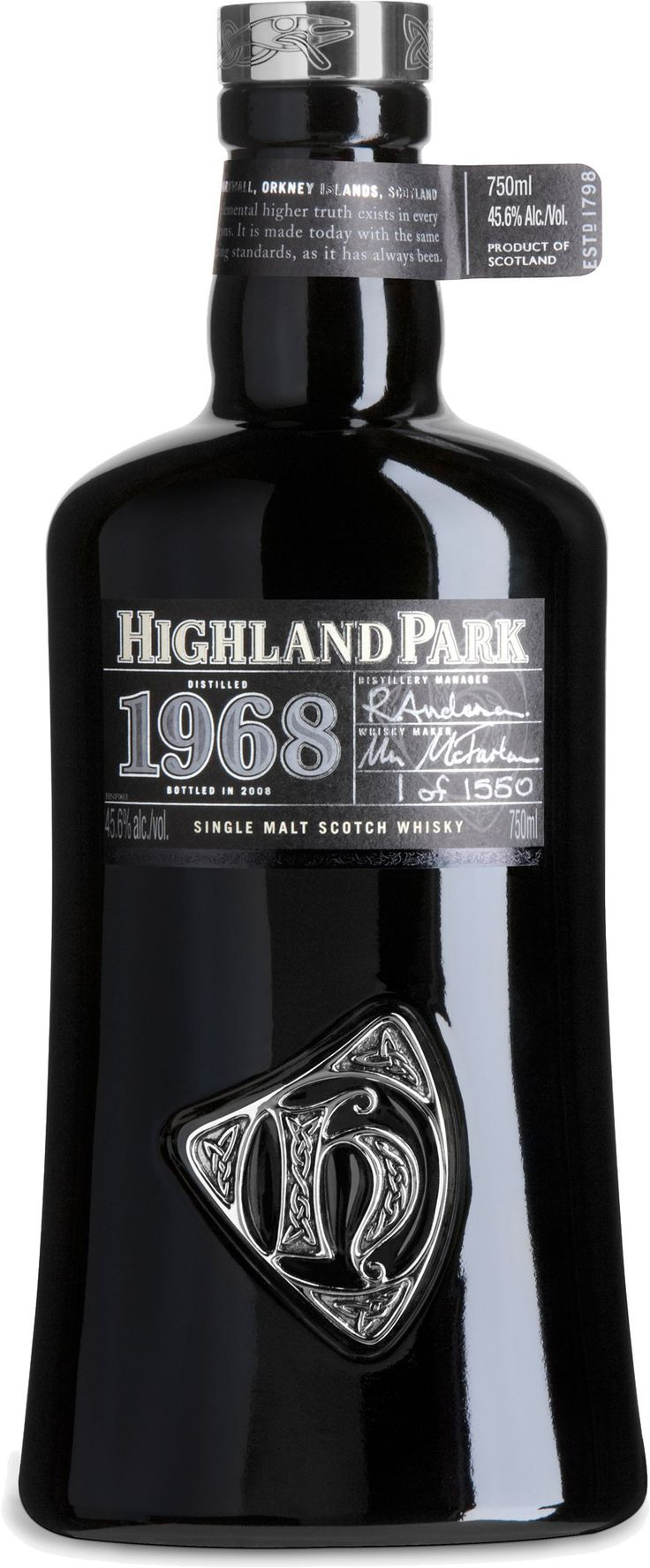 Highland Park 1968 Orcadian Vintage Single Malt Scotch Whisky | @Caskers