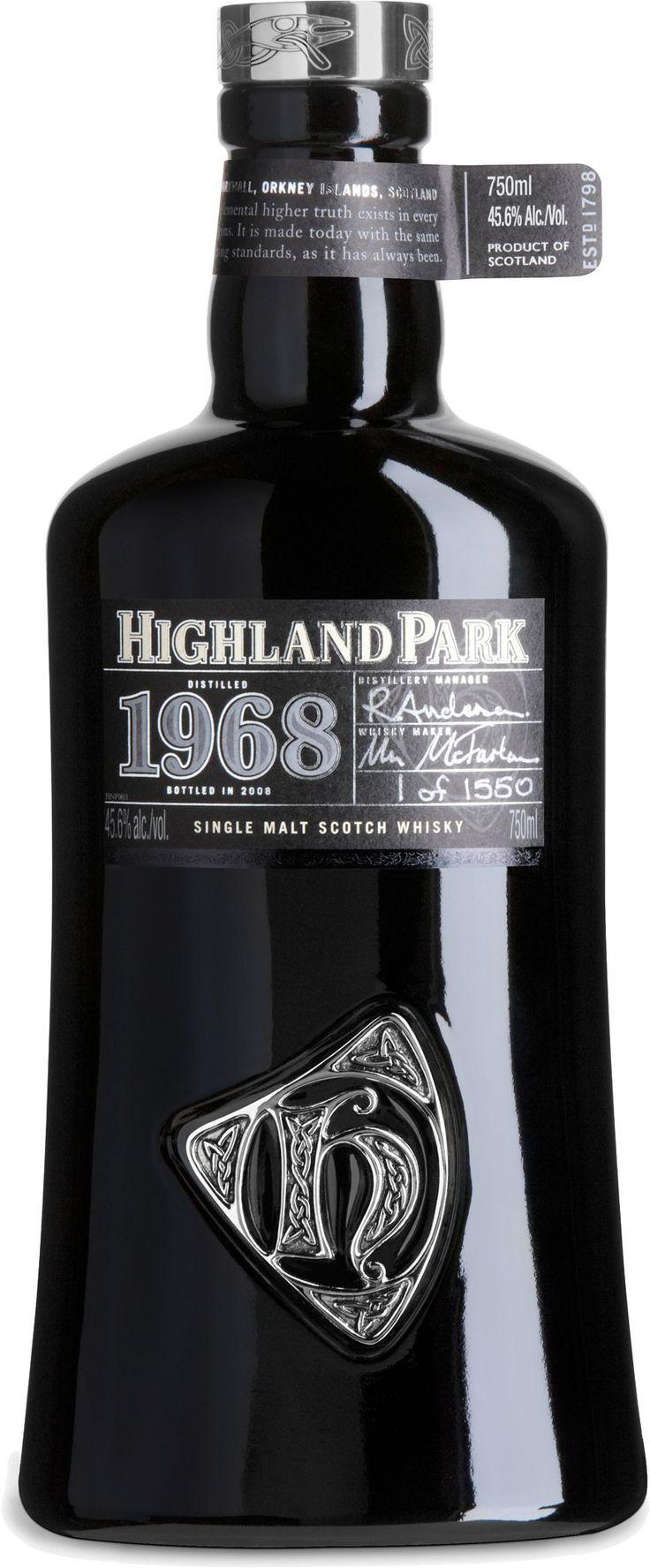 Highland Park 1968 Orcadian Vintage Single Malt Scotch Whisky   @Caskers