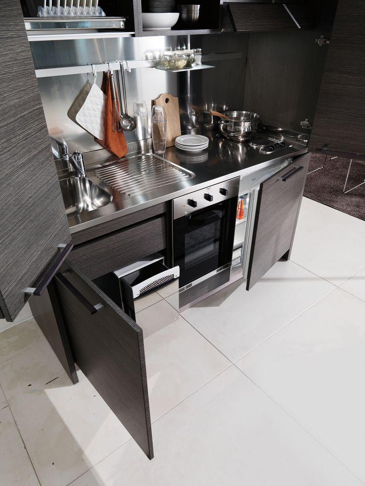 Oltre 25 fantastiche idee su cucine piccole su pinterest seminterrato angolo cottura e cucina - Cucine compatte prezzi ...