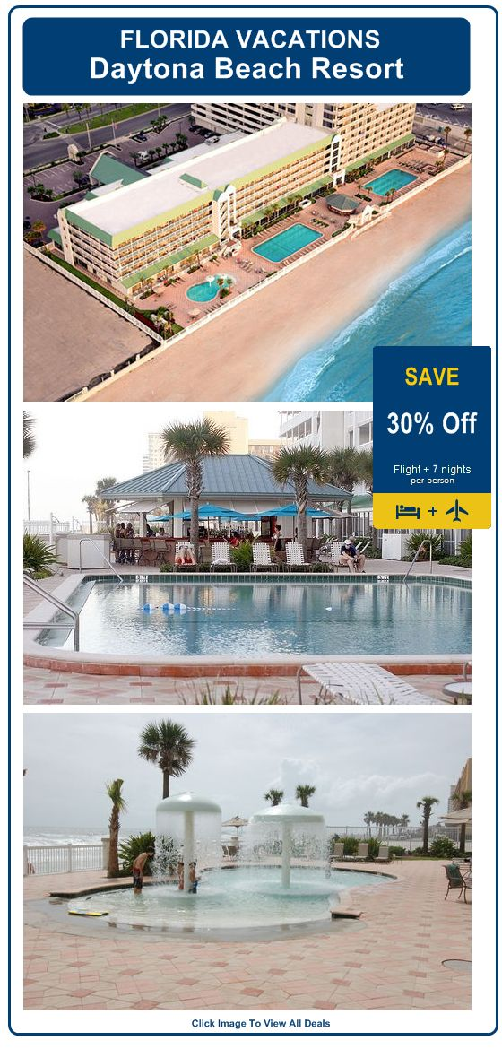 Daytona Beach Resort - Florida | All Accommodations Feature Full Kitchens | Save 30% | View All Deals!