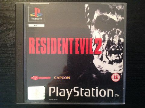 Resident Evil 2 Playstation Game – Obsolete Gaming
