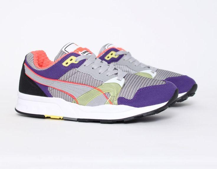puma trinomic xt1 sneaker grey violet