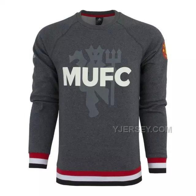 http://www.yjersey.com/1516-manchester-united-grey-sweat-top-shirt.html Only$41.00 15-16 MANCHESTER UNITED GREY SWEAT TOP SHIRT Free Shipping!