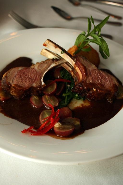 The Brentwood Restaurant & Wine Bistro - Rack of Lamb