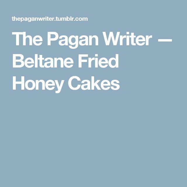 Beltane Honey Cakes Recipe