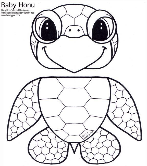 Image result for best outline printable of sea turtle
