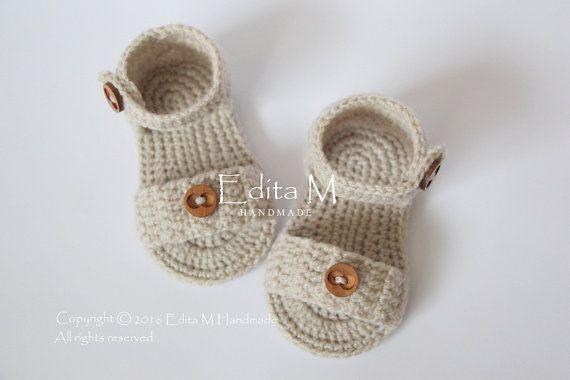 Crochet bambino Sandali sandali gladiatore stivaletti unisex