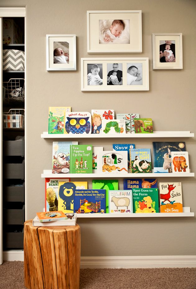 A bookshelf the kids are sure to love #room #decor