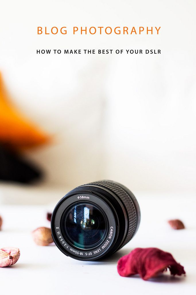 Is using a DSLR sufficient to take amazing photos for your blog? Uhm.. maybe…
