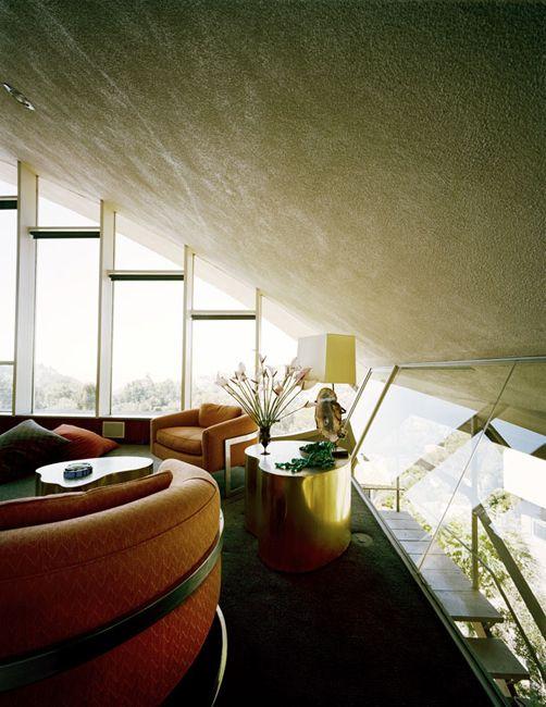 John Lautner: Garcia Residence a.k.a. The Rainbow House: Los Angeles