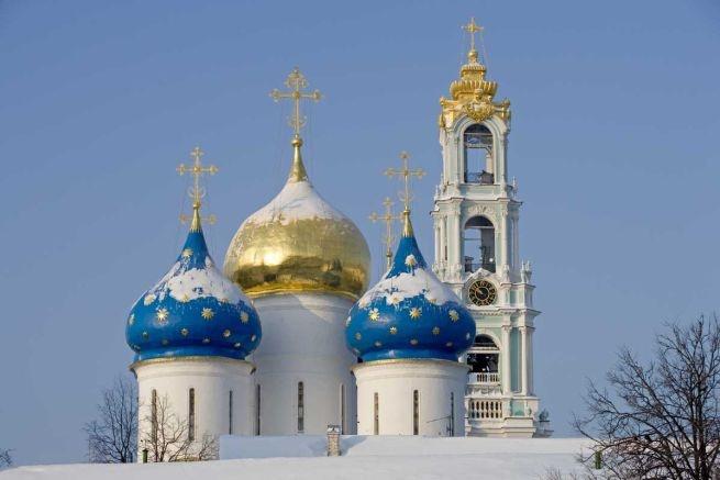 Cattedrale dell'Assunzione - città di Sergiev Posad, Russia