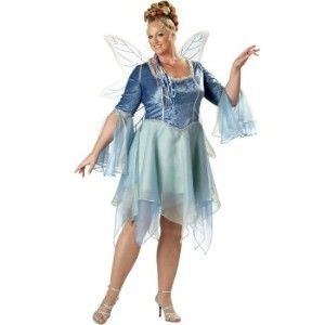 Plus size fairy costumes - Woodland Faerie Plus Elite... review at Kaboodle