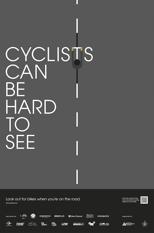 Safety Cycling Poster #5: Cyclists Can Be Hard To See Taking into account that cyclists are among the most vulnerable road users, we have launched a series of poster campaign to create awareness of road safety targeting cyclists and motorists in Singapore. The campaign is supported by the Singapore Road Safety Council, the Singapore Traffic Police and a host of Singapore-based cycling communities, including cycling clubs, retailers and race organisers. To request for this hi-resolution…