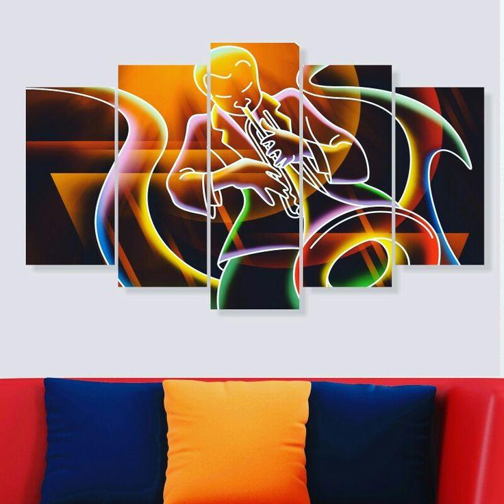 100x60 cm 5 parça dekoratif tablo 40,TL 🚚 Kargo alıcıya aittir 💟3 adet ve üstü kargo ücretsizdir 👍Kapıda ödeme KİŞİYE ÖZEL TABLO YAPIYORUZ 50₺ 📝Sipariş için Dm veya WhatsApp'tan 0542 398 07 51 #duvarsüsü #tablo #tasarim #hediye #hediyelik #sanat #jazz #ev #alışveriş #pano #caz