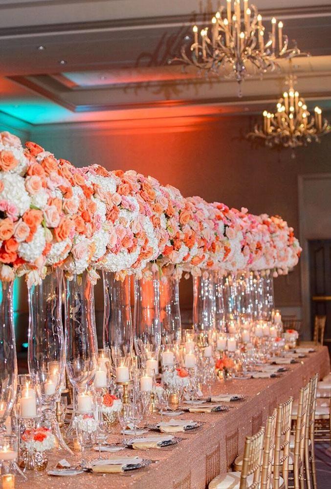 33 Coral Wedding Decorations Ideas Wedding Forward Coral Wedding Decorations Wedding Centerpieces Coral Wedding