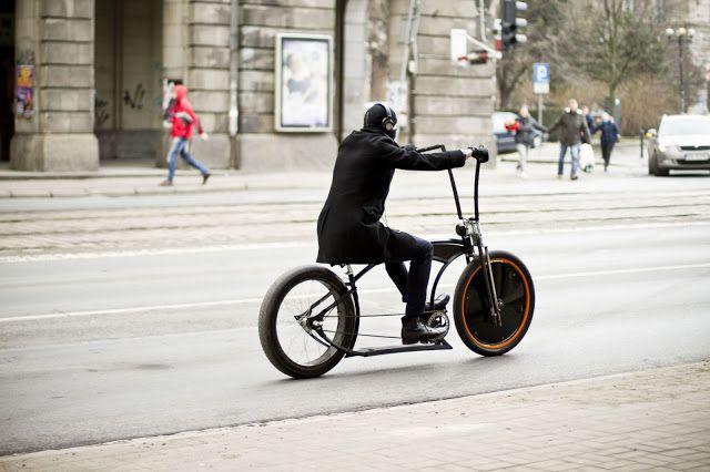 man in black on #Wrocław steet