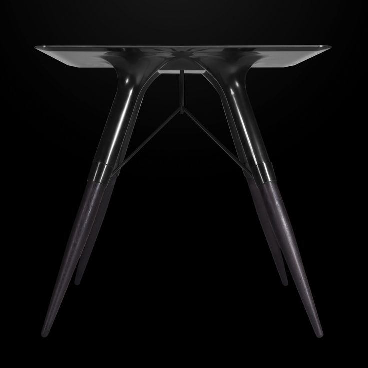 Total black! #tablet #table #corian #dupont #deepcolors #black #deepnocturne #design #furniture #limitededition