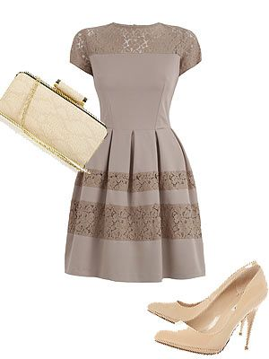 SHOP: Wedding guest outfits: In the nude