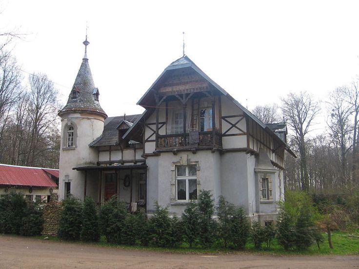 Domek Ogrodnika w Chwalimierzu.