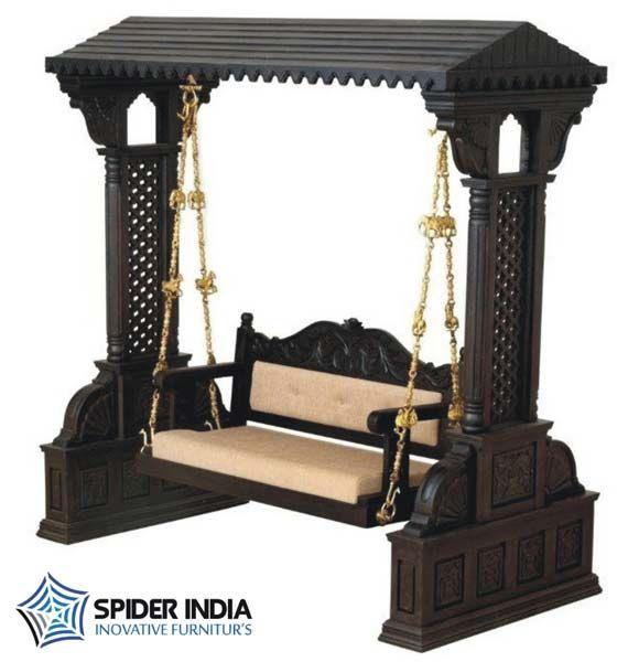 woodenswing, wood carved swing. swing, antique swing, indoor swing teak swing