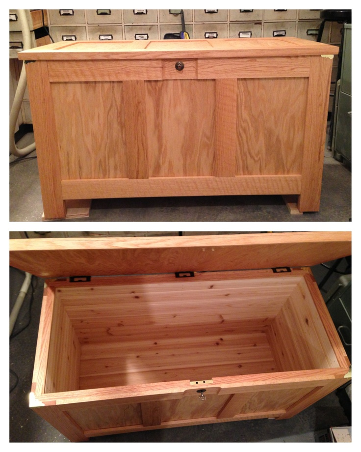 Hope Chest Plans ~ Oak hope chest plans woodworking projects