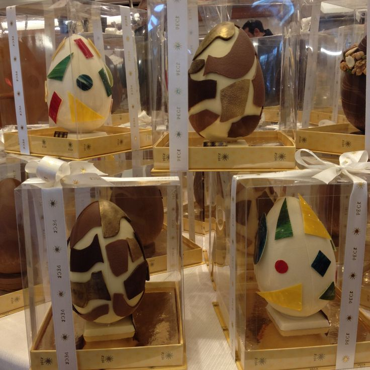 Mosaico chocolate eggs for Easter 2016!