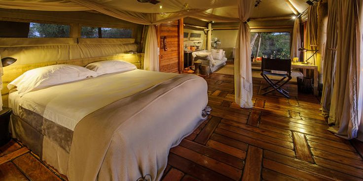 Little Mombo Camp in Botswana - one of the incredible lodges you can visit on your Trek safari to Africa! Visit http://treksafaris.com for more info. #travel #africa #botswana #safari #africansafari